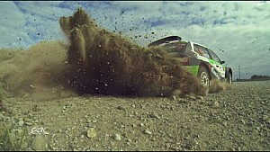 FIA ERC - Rally Liepaja Best footage LEG1 Clip