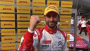 Interview - WTCC Race of China José María López takes Pole