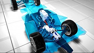 Cómo funciona un coche de Fórmula E