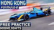 Hong Kong Free Practice Highlights - Formula E