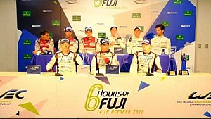 WEC - 2016 6 hours of Fuji - Post Race Press Conference
