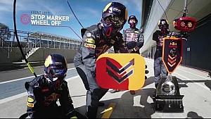 Red Bull Racing - Formula 1 Pit Stop explicación