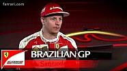 Kimi Raikkonen over de Braziliaanse GP