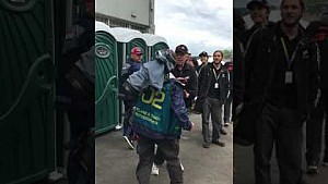 Photographer altercation at Pukekohe