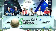 Pre-Event Press Conference LMGTE - 6 Hours of Bahrain 2016
