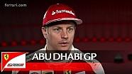 El GP de Abu Dhabi con Kimi Raikkonen - Scuderia Ferrari 2016