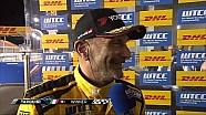 Gabriele Tarquini wins WTCC Opening Race in Qatar