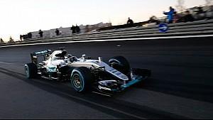 Fuegos artificiales, Coches F1 y Racing Stars – La última fiesta Mercedes-AMG Motorsport
