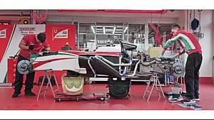 Testes da Ferrari Driver Academy em Fiorano