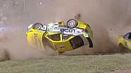 Авария в гонке серии Aussie Racing Cars