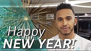 ¡Mensaje de año nuevo de Lewis Hamilton!