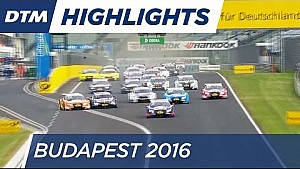 DTM Budapest 2016 - Highlights