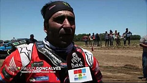 Dakar 2017 2. Gün Monster Energy Honda Team