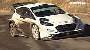 米其林出品-塔那克测试2017款嘉年华WRC赛车