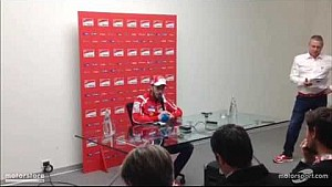 Andrea Dovizioso | Presentazione Ducati Team 2017