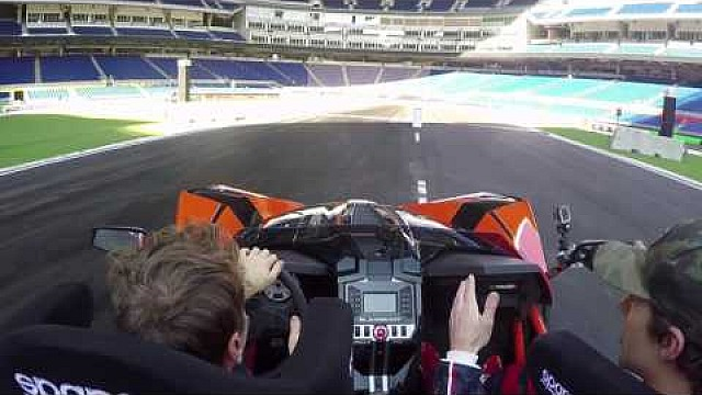 ROC Track Recon with Vettel & Pastrana