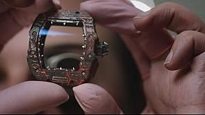 A racing machine on the wrist