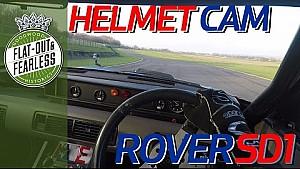 Rover SD1 helmet cam with Andrew Jordan