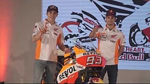 La Presentazione 2017 del Team Repsol Honda