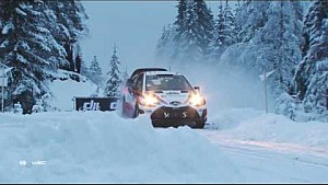 WRC - 2017 Rally Sweden - Day 2 part 1