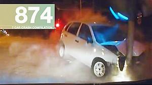 Car Crashes Compilation 874 - February 2017