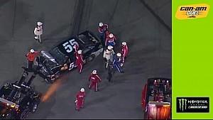 Daytona 500: Sorenson kracht in die Wand