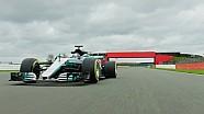 Mercedes: Hamilton und Bottas im neuen W08