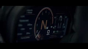 Second-generation McLaren Super Series - Folding Driver Display