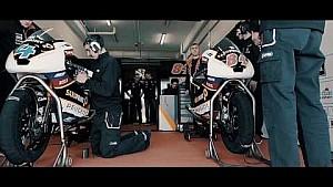 Pilotos de Peugeot preparándose para la temporada de 2017 de Moto3