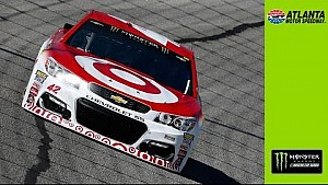 Larson: Keselowski 'guessed where I was going'