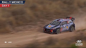 Rally Mexico day one - Hyundai Motorsport 2017