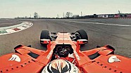 Recorrido con la cámara 360º grados en el Ferrari SF70H