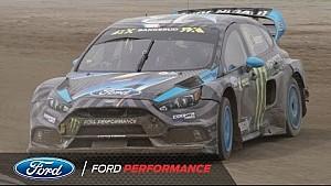 福特福克斯RS赛车首个WRX赛季记录