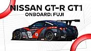 a bordo del NISSAN GT-R GT1
