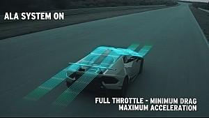 Huracán performante: How the ALA (Lamborghini active aerodynamics) works