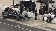 Texas Motor Speedway testing