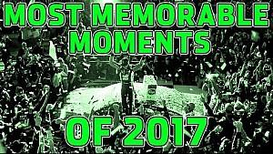 2017'nin en iyi anları