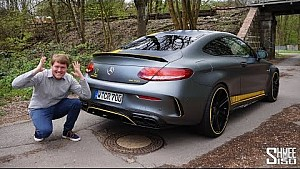 This AMG C63 S is crazy! Manhart CR 700