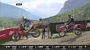 MXGP de Trentino MXGP Carrera 1 Antonio Cairoli pasa a Tim Gajser