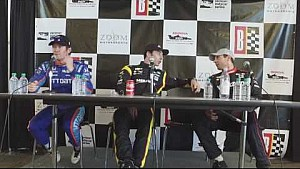 INDYCAR Qualifications Press Conference