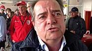 Alessandro Nannini, vecchie ruggini al Minardi Day
