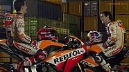 Les pilotes Repsol Honda, acteurs d'un jour!