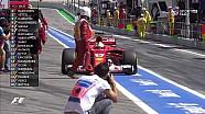 2017 İspanya GP FP3 - Vettel Pitte Kaldı