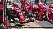 2017 İspanya GP - Vettel'in Erken Pit'i ve Hamilton'dan En Hızlı Tur