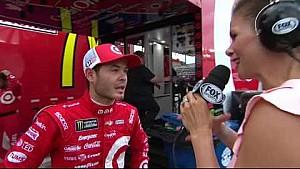 Larson wins Monster Energy All-Star Race pole