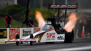 Steve Torrence rockets to the top in Topeka