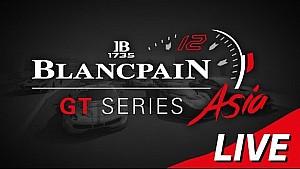 Race 1 - Blancpain GT Series Asia -  Buriram - Live