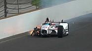 Kecelakaan hebat Sebastien Bourdais pada kualifikasi Indy 500