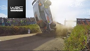 Rally de Portugal 2017: Crash Quentin Gilbert