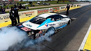It's career win No. 2 for Tanner Gray in Topeka